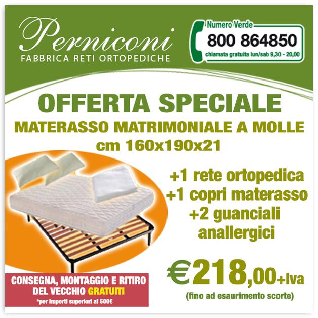 Offerte – Fabbrica reti ortopediche Roma