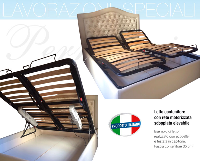 Reti da letto regolabili reti per letto a venezia produzione e vendita cazzin srl reti a doghe - Reti da letto elettriche ...
